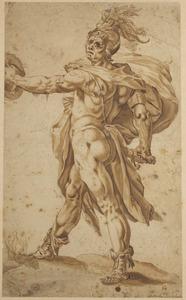 De Romeinse held Marcus Calphurnius Flama