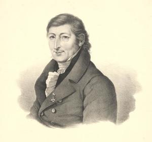Portret van Hendrik Willem Tydeman (1778-1863)