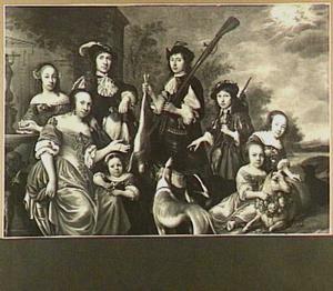 Groepsportret van een familie