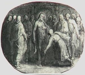 Christus en de ongelovige Thomas (Johannes 20:24-31)