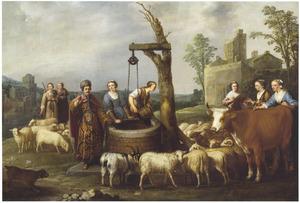 Jetro en zijn zeven dochters  (Exodus 2:16-22)