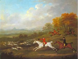 De Hertog van Darlington op vossejacht met de Raby meute, scene 3: Full Cry