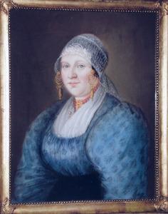 Portret van Lena Akershoek (1802-1879)