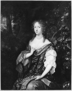Portret van ALida de Lange ( -1694)