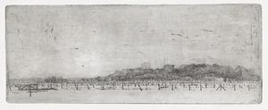 Winterlandschap bij Fort Ruygenhoek, bij Utrecht