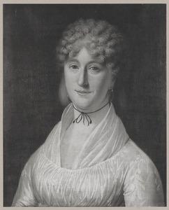 Portret van Cornelia van der Wallen van Vollenhoven (1782-1818)