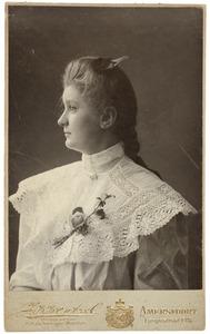 Portret van Moussia Aberson (1890-1973)