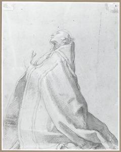 Knielende bisschop