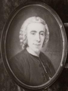 Portret van Gerrit Willem van Oosten de Bruyn (1727-1797)