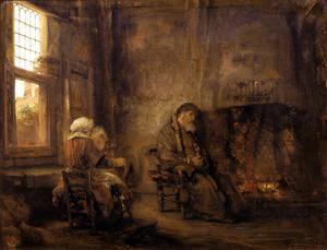 Tobit en Anna wachten op de terugkeer van hun zoon