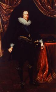 Portret van Karel I van Engeland (1600-1649)