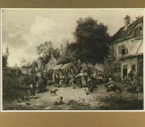 Boerenfeest in een dorp