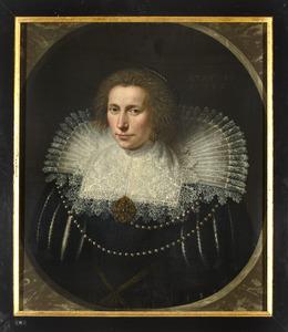 Portret van Clara de Hinojosa (1587-1631)