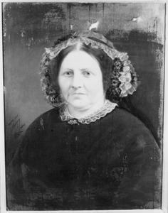 Portret van Dieuwertje Bakker (1803-1873)