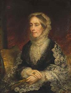 Portret van Sarah Maria van Cappellen (1807-1889)