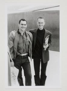 Portret van Joep van Lieshout en Jan van Adrichem