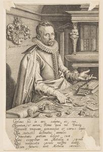 Portret van Abraham Gorlaeus (1549-1609)