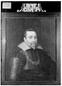 Portret van Hendrik (van Tuyll) van Serooskerken (1574-1627)