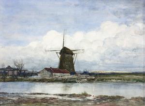 Molen bij Amsterdam