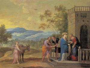 De visitatie: het bezoek van Maria aan en Jozef aan Elisabeth en Zacharias