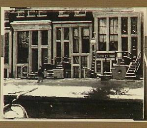 Gevels aan de Oude Waal, Amsterdam