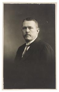 Portret van D.E. de Baer (...-...)