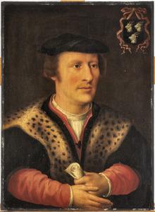 Portret van Adriaan van der Goes (....-1560)