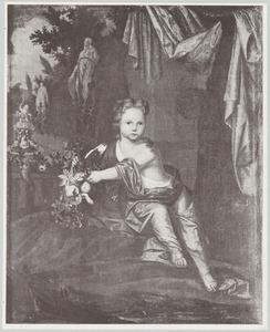 Portret van Henriette Casimira van Nassau -Dietz (1696-1738)