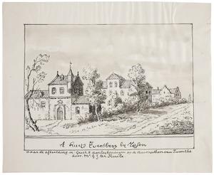 Het huis Eversberg bij Wierden