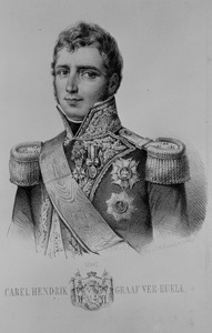 Portret van Carel Hendrik Ver Huell (1764-1845)