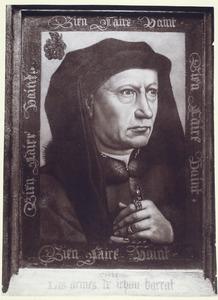 Portret van Barthélemy Alatruye (?-1466), echtgenoot van Marie de Pacy