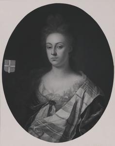 Portret van Katharina van Zoelen (1684-1754)