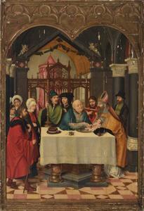 De besnijdenis van het kind Jezus in de tempel