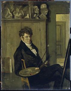 Zelfportret van Wouter Johannes van Troostwijk
