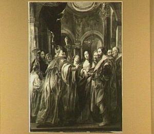 Het huwelijk van de H. Maagd