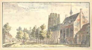 Beesd, het raadhuis en de kerk
