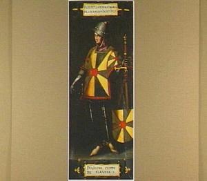 Portret van Robert le Frison, 10de graaf van Vlaanderen