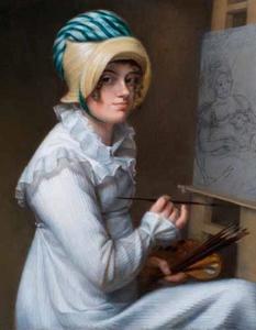 Zelfportret van Wilhelmina Geertruida van Idsinga (1788-1819)