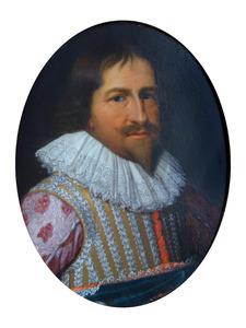 Portret Koning Christiaan IV van Denemarken (1577-1648)