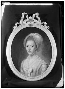 Portret van Margaretha Theodora Collot d'Escury ( -1807)
