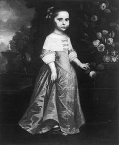 Portret van Catharina Lucia von Kreps (1653-1699)