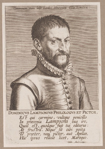 Portret van Dominicus Lampsonius (1532-1599)