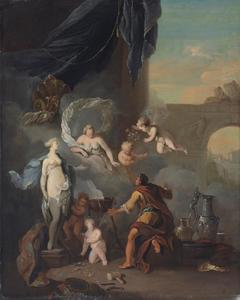 Pygmalion en Galatea
