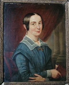 Portret van een vrouw, mogelijk Françoise Catherine Emilie Elise Alting Siberg (1808-1859)