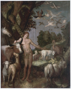 Adam benoemt de dieren in het paradijs