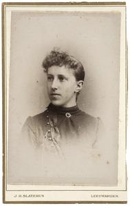 Portret van Grietje Pel