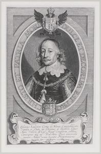 Portret van Johan Lodewijk van Nassau -Hadamar (1590-1653)