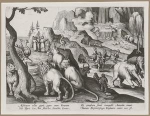 Apollonius van Tyana ontmoet de inwoners en de dieren in Ethiopië