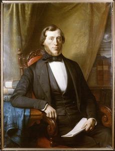 Portret van Arnold Albert Willem van Wulfften Palthe (1816-1900)