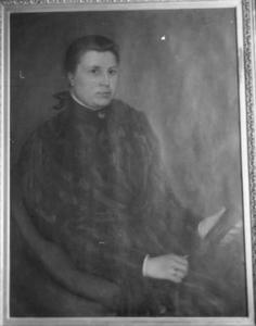 Portret van Cornelia Frederika Hamel (1857-1940)